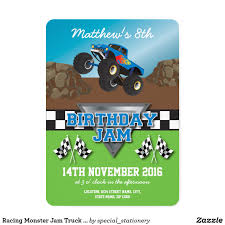 Racing Monster Jam Truck Birthday Party Invitation   Pinterest ... Birthday Monster Truck Invitations Free Templates Grave Printable Party Fresh 9 Best Trucks Blaze And The Machines Trend Jam 3d Birthdayexpress Com 3 Year Old Cstruction With Printables Vip Guest Pass Printable Insert Instant Outstanding Images Inspirational E Three Awesome