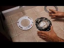 toilet flange height after tiling handyman tips