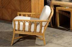 Ficks Reed Lounge Chair by Ficks Reed Decorative Pair Of Vintage Rattan Lounge Chairs By