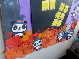 halloween classroom door decorating delicate construction