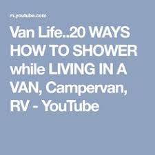 Van Life20 WAYS HOW TO SHOWER While LIVING IN A VAN Campervan