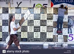 Denver International Airport Murals Explained by Peace Mural Stock Photos U0026 Peace Mural Stock Images Alamy