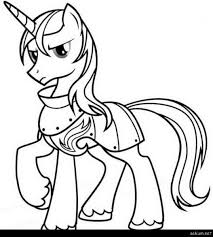My Little Pony Coloring Pages Princess Cadence And Shining Armor Sheet Print Outs Pinterest Free