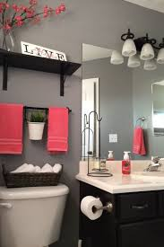 3 Tips Add STYLE To A Small Bathroom Colors GrayRed DecorColors