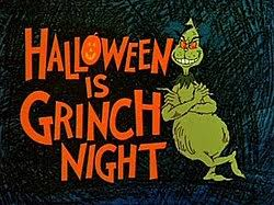 Halloween Two Voice Poems The by Halloween Is Grinch Night Wikipedia