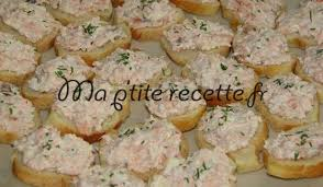 recette canape canapé aux rillettes de saumon recette apéritif saumon et canapés