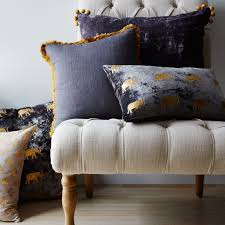 Silk Velvet Pom Pom Pillow – CENTURIA