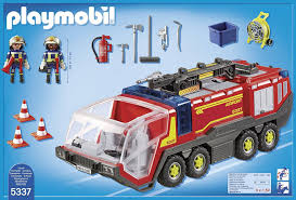 Playmobil City Action 5337 Airport Fire Engine With Lights And Sound ... Playmobil Take Along Fire Station Toysrus Child Toy 5337 City Action Airport Engine With Lights Trucks For Children Kids With Tomica Voov Ladder Unit And Sound 5362 Playmobil Canada Rescue Playset Walmart Amazoncom Toys Games Ambulance Fire Truck Editorial Stock Photo Image Of Department Truck Best 2018 Pmb5363 Ebay Peters Kensington