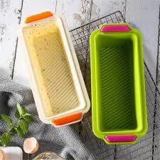 silikon backform silikon kuchen formen toast brot pan süßigkeiten kuchen werkzeuge gebäck silikon form diy rechteck küche backen werkzeug