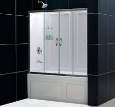 how to install bathtub doors alert interior