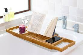 Bamboo Bathtub Caddy Canada by Bathtub Book Rack Cintinel Com