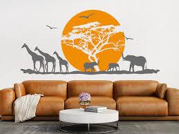 wandtattoo afrika hitze in der savanne wandtattoo de