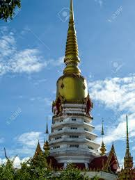 100 Banglamung Gold Pagoda At Wat Pha Chum Kongka Chonburi Thailand