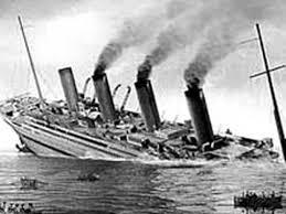 hmhs britannic sinking hmhs britannic shipwreck youtube