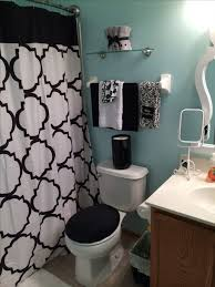 Teal Bathroom Decor Ideas by Bathroom Surprising Black And Teal Bathroom Accessories Gorgeous