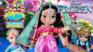 Disney Bathroom Set India by It U0027s A Small World Doll India Frozen Toddler Elsa Anna Disney