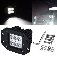 4 Inch 18W Square Flood LED Work Li (end 11/22/2018 2:41 PM) China High Intensity Bridgelux Led Truck Work Light Gf006z03 Pair Of New 7x6 54w Led Headlight Square Car Small 26 10w Offroad Auto Lamp Suv 700lm 240w Bar Boat Tractor 4x4 4wd Suv Lights For Trucks Jinchu Work Light Halogen Offroad Atv Truck Quad Flood Lamp 18w 6x 5 Inch 45w 3300lm 15x Leds Dc 1030v 4wd 7inch Spot Beam 36w Trucklites Signalstat Line Now Offers White Auxiliary Lighting 2pcs 10w Motorcycle Bicycle Spot 30 Degree Amazonca Accent Off Road