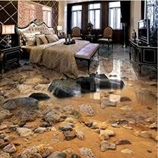 3d tapete seaside sand stein wohnzimmer bad 3d boden malerei