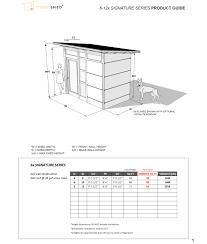 6 X 12 Shed Kit by Backyard Sheds Studios Storage U0026 Home Office Sheds Modern