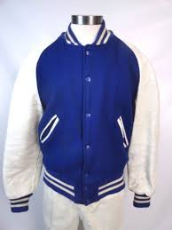 Vintage 50s Wool And Leather Letterman Jacket