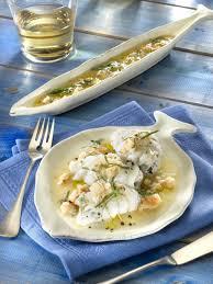 cuisine brochet recette brochet à la crème d échalotes