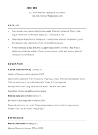 Administration Resume Samples Administrative Assistant Sample Office