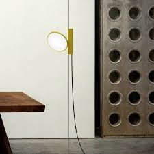 flos ok floor to ceiling tension pole string light stardust