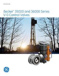 Dresser Masoneilan Pressure Regulator by Becker V0 Control Valves Ge Gas Turbines Pdf Catalogue