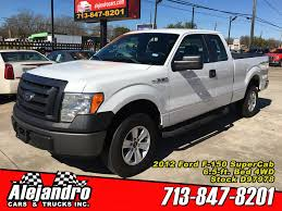 100 2012 Trucks ALEJANDRO CARS TRUCKS INC Used White Ford F150 For Sale In