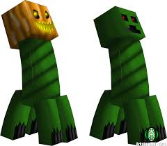 Minecraft Growing Pumpkins by Image Minecraft My Ideas Pumpkin Head Creeper By