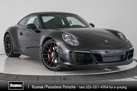 100 Porsche Truck Price New 2019 911 Carrera GTS 2dr Car In Pasadena 391087