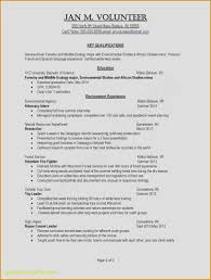 Good Sample Resume Beautiful Examples Resumes Ecologist Resume 0d