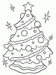 Coloring Print Printable Christmas Pages For Kids With Ornaments Free