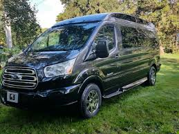 2017 Ford Transit Extended 9 Passenger Explorer Conversion Van