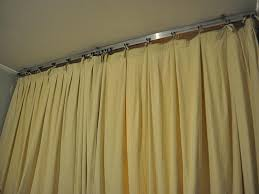 ceiling mount curtain track home depot modern ceiling design