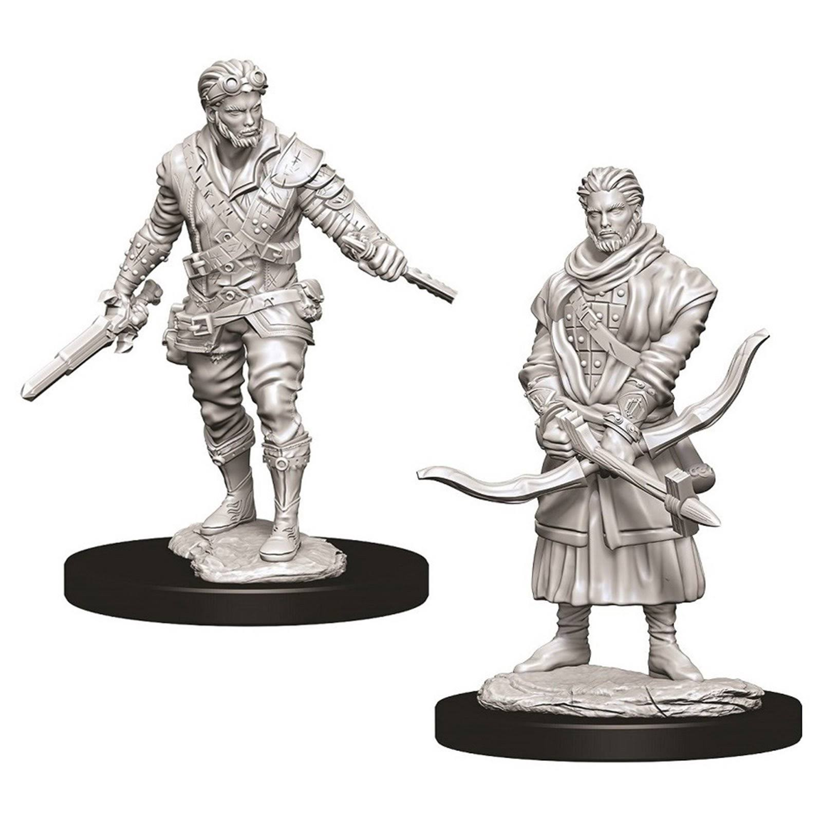Dungeons and Dragons - Nolzur's Marvelous Unpainted Minis: Unpainted Male Human Rogue Miniature
