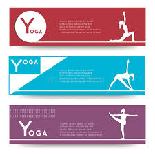 Download Yoga Vector Banner Stock Image Of Creative Corporate