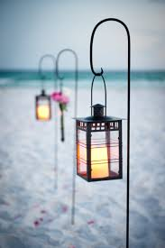 Decorating Beach Wedding Lantern