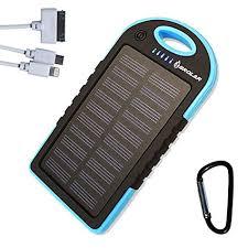 Amazon Brolar Solar Charger 5000mAH Portable Power Bank for