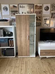 4 teilige wohnzimmer ausstattung schrank kombi firma mondo