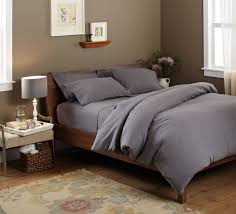 Glamorous Grey Comforter Design For Cozy Bedroom Decoration Wall Art Ideas Combined With Taupe