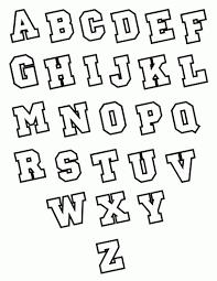 Easy Lettering Alphabet Block Letter Letters
