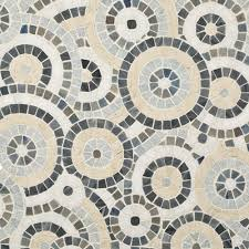 Mosaic Tile Chantilly Virginia by Artistic Tile Celestial Starry Blue Polished Mosaic 104 Sf Ok