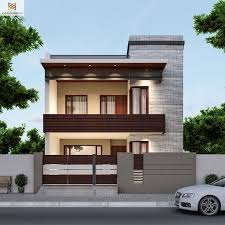 Modern House Fronts by Front House Designs Home Design