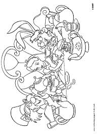 Alice In Wonderland Coloring Pages Find Thousands Of Amazing Disney All The Popular Movies And Characters