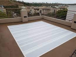 Best Outdoor Carpeting For Decks by How To Paint A Permanent Outdoor Rug For Under 150 On Concrete