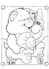 The Care Bears Coloring Pages On Book