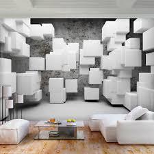 details zu vlies fototapete abstrakt groß grau 3d effekt tapete wohnzimmer wandbilder