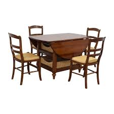 80% OFF - Pottery Barn Pottery Barn Shayne Drop Leaf Dining Set With  Storage Baskets / Tables Cheap Table And Chair Sets Getvcaco Kitchens Fniture Kitchen Image Grey Pottery Barn Bar Ding Room Decor Christmas Style Sumner Calais Set 3d Model Charming Table Centerpieces For Craigslist Turned Set House Of Diy Inspired For 100 Shanty 2 Chic Linden Mabry Chairs Round Outdoor Tablecloths Kids My First Chair Simply White