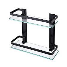kes glasablage duschablage wandregal 8mm gehärtetes glas